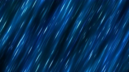 Fast Colorful Diagonal Light Rays Background Animation - Loop Blue