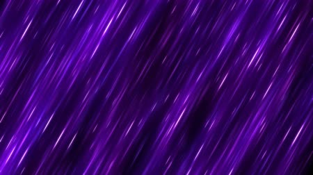 Fast Colorful Diagonal Light Rays Background Animation - Loop Purple Stock mozgókép