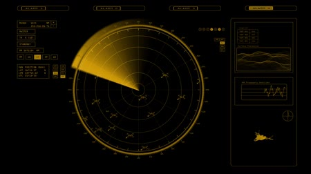 crosshair : Radar screen