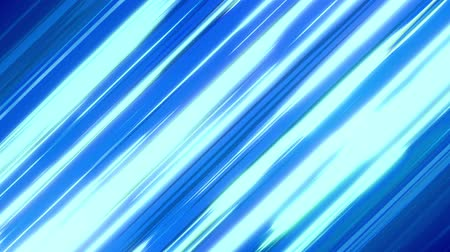 lendület : Blue Diagonal Anime Speed Lines. Anime motion background Stock mozgókép