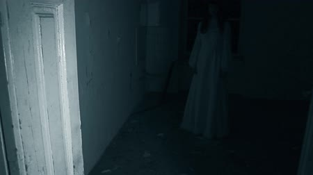 прихожая : Female ghost in the dark hallway