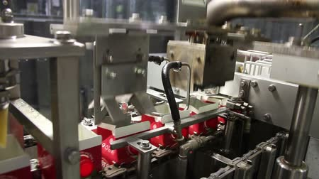 florete : Beverage Factory - automatic machine in working process