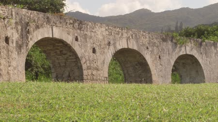 jamajka : Ancient aqueduct Montego Bay, Jamaica Wideo