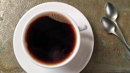 kufel : Cup of coffee slow motion
