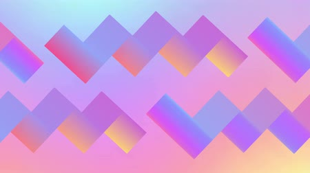 zděšený : Retro geometric abstract background 80s and 90s. Seamless loop.