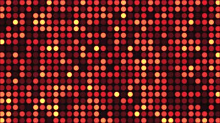 Disco light effect bright round sequins. Flashing light wall background. Spangle glitter.