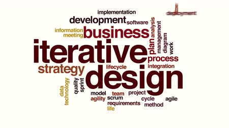 sprintel : Iterative design animated word cloud
