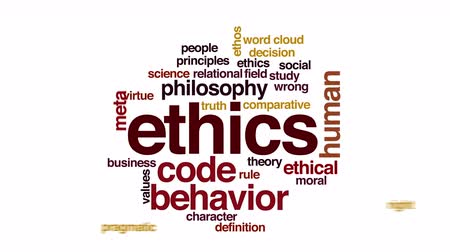 fazilet : Ethics animated word cloud