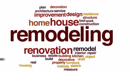interiér : Remodeling animated word cloud.