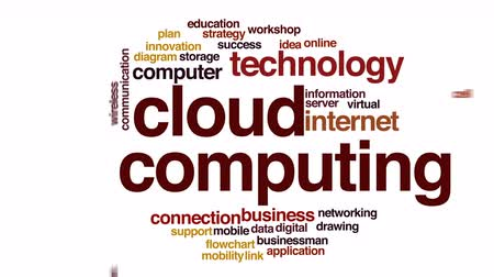 warsztat : Cloud computing animated word cloud.