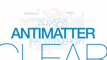 elétrico : Antimatter animated word cloud, text design animation.  Kinetic typography.