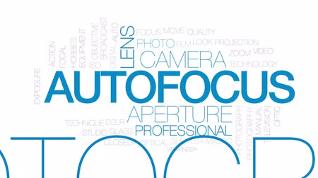 technika : Autofocus animated word cloud, text design animation. Kinetic typography. Dostupné videozáznamy