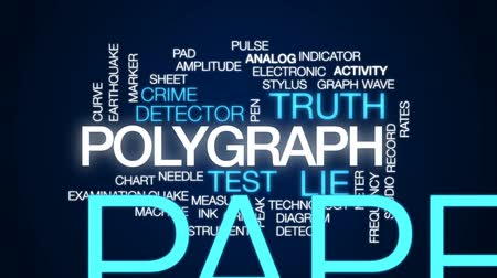 terremoto : Polygraph animated word cloud, text design animation.