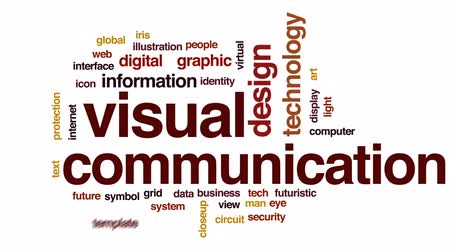 irys : Visual communication animated word cloud, text design animation.