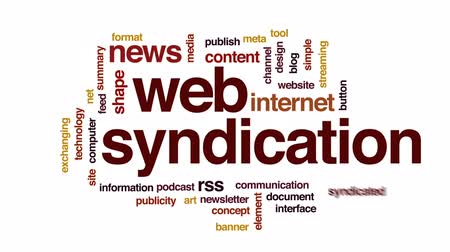 публиковать : Web syndication animated word cloud, text design animation.
