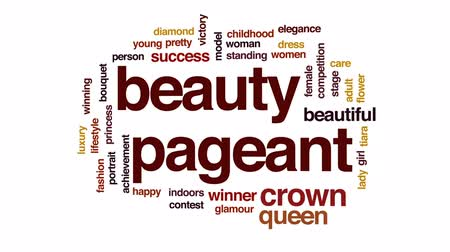 алмаз : Beauty pageant animated word cloud, text design animation.