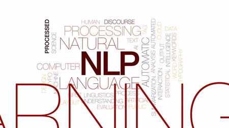 anahtar kelime : NLP animated word cloud, text design animation. Kinetic typography.