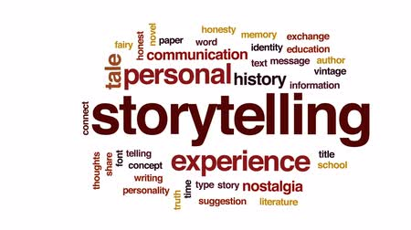 честный : Storytelling animated word cloud, text design animation.