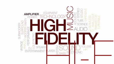 tranzistor : High fidelity animated word cloud, text design animation. Kinetic typography.