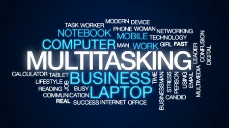 kalkulačka : Multitasking animated word cloud, text design animation. Dostupné videozáznamy