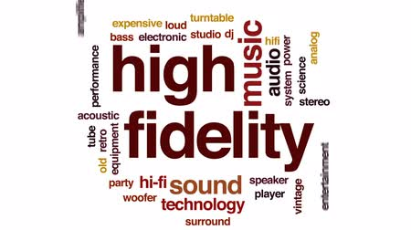 tranzistor : High fidelity animated word cloud, text design animation.