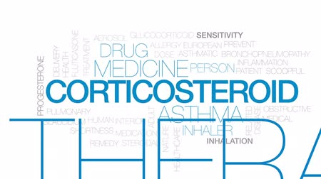 související : Corticosteroid animated word cloud, text design animation. Kinetic typography.
