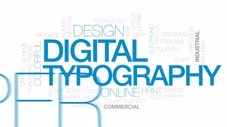 публиковать : Digital typography animated word cloud, text design animation. Kinetic typography