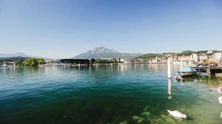 lucerne switzerland landscape lake alps