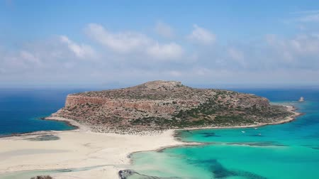 balos beach crete island greece sea