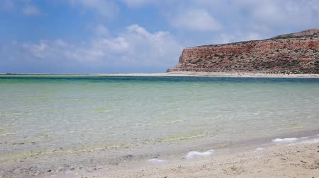 görög : balos beach crete island greece sea