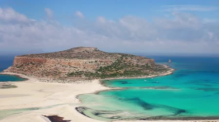 greek : balos beach crete island greece sea