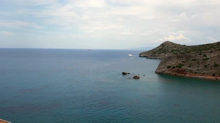 elounda : crete historic island spinalonga sea
