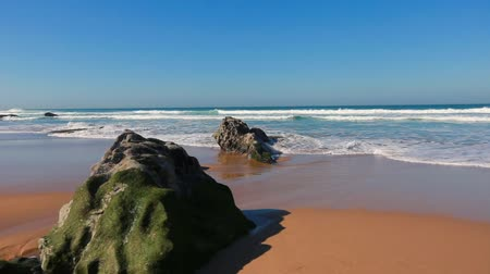 portugal ocean beach nature landscape