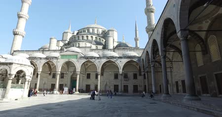 muhammad ali : ISTANBUL, TURKEY - 6 APRIL, 2016: The Blue Mosque in Istanbul, a cultural monument and place of worship for Muslims