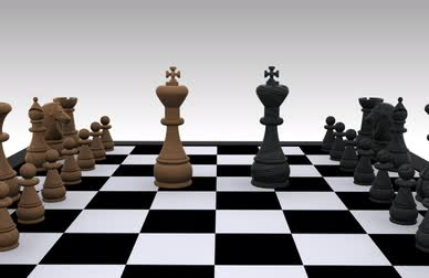 королева : 3D chess - Battle, King against King