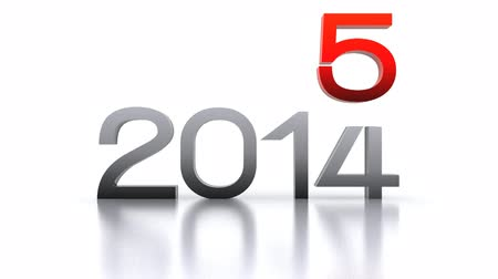 substituição : 3D animated video - comes the new year 2016