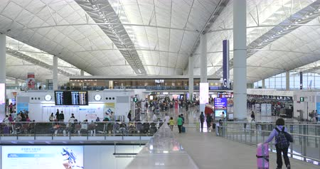 busiest : Hong Kong 14 October 2017:- Hong Kong airport