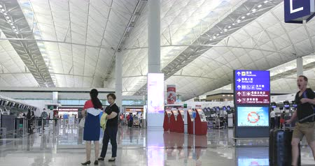 busiest : Hong Kong 14 October 2017:- Hong Kong international airport