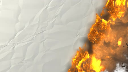 yanmak : Fire transition, 3d animation. alpha included
