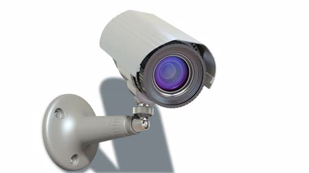 безопасность : surveillance camera, loop-able 3d animation
