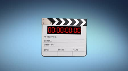 bordo : Clapper board, 3d animation