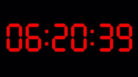 zegar : Countdown clock red led