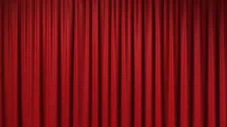perdeler : Opening red curtain