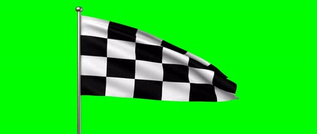acabamento : race flag, 3d animation