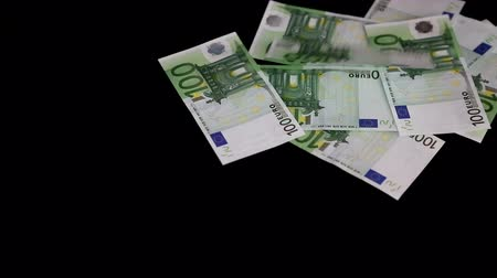 euro : Money counting