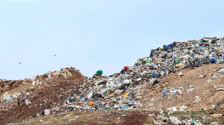 guba : View on the landfill.