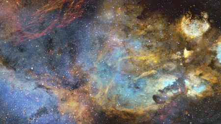 galaxie : 4K Panoramic flight through a star nebula 1