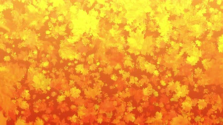 4k Autumn Leaf Fall Background