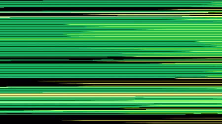 10 digital glitch transitions in 4k. Abstract color and monochrome transitions