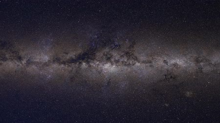 4K Milky Way Static Stars